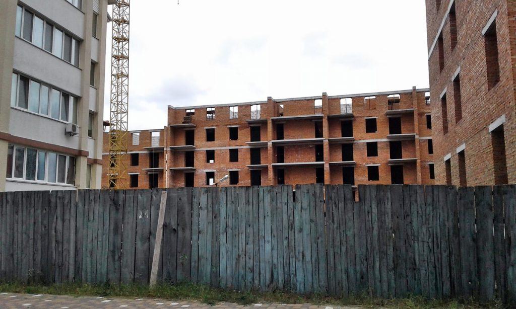 ЖК Покровский в Гостомеле ход строительства шестого дома