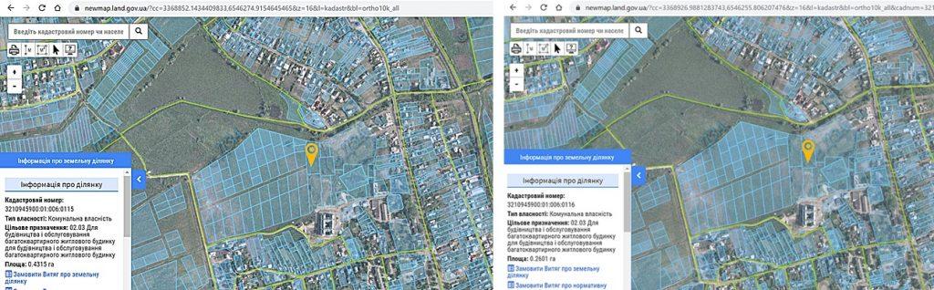 ЖК Покровский в Гостомеле данные кадастра о целевом назначении земли