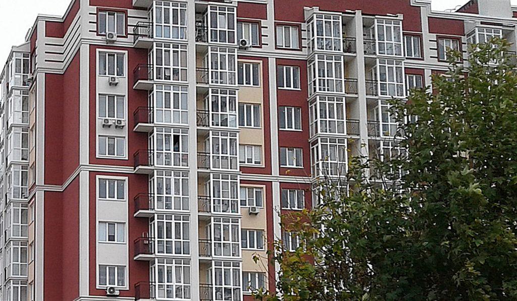ЖК Покровский в Гостомеле фасад готового дома