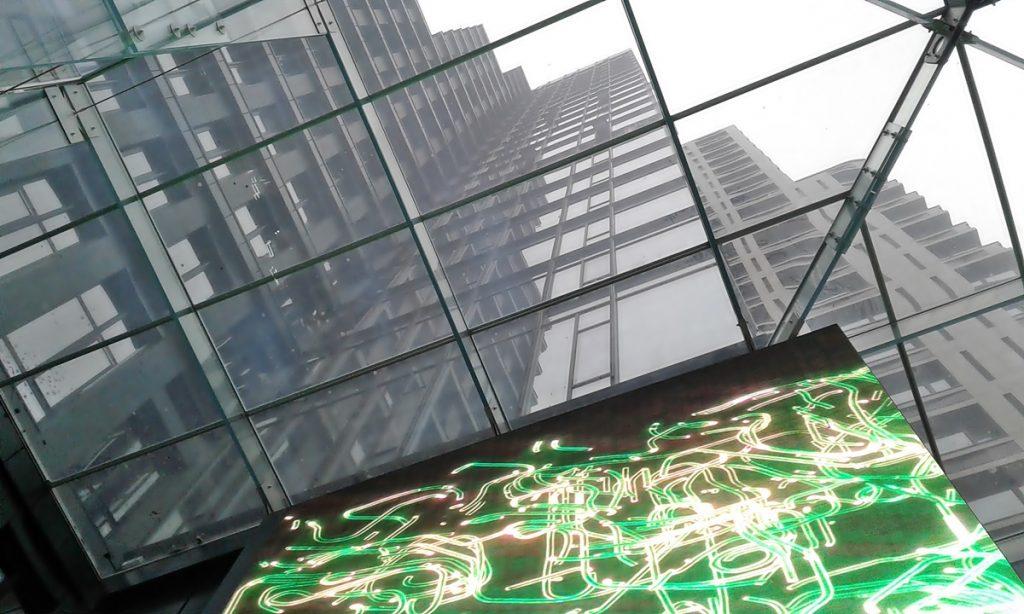 ЖК Чикаго Централ Хаус скульптура