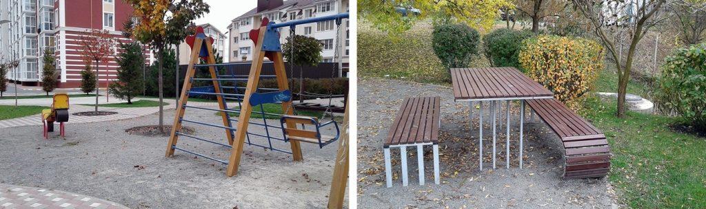 ЖК Покровский в Гостомеле детская площадка