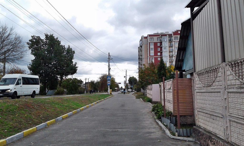 ЖК Покровский в Гостомеле автобусная остановка