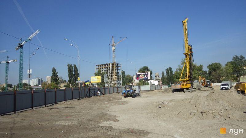 ЖК Берег Днепра от Риел ход строительства