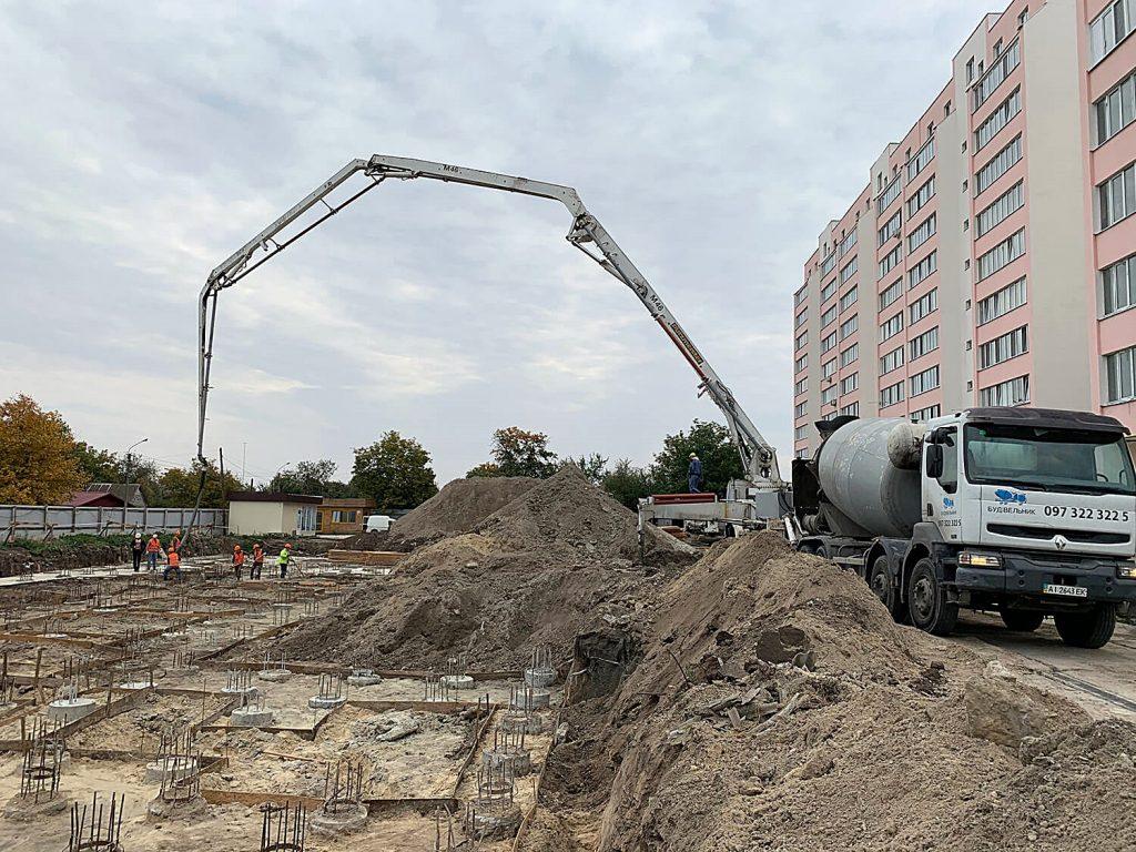 Жилой дом 2 в Борисполе стройка