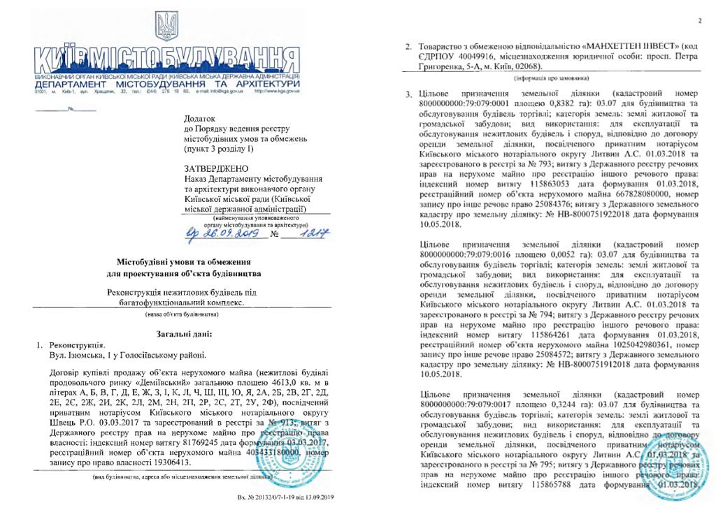 Новый проект новостройки Киева на Демеевском рынке гуо на реконструкцию