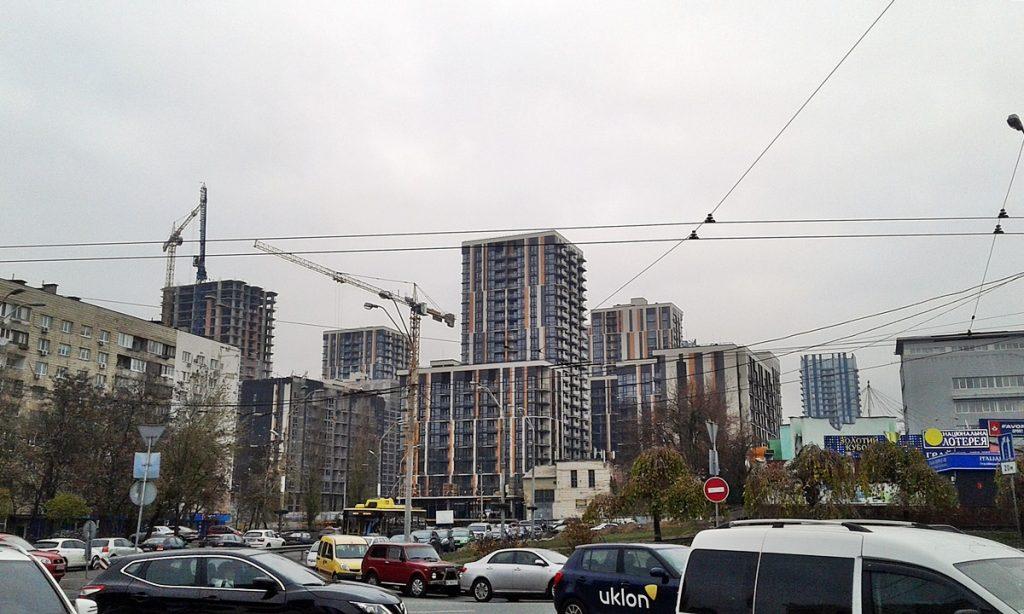 ЖК Французский квартал 2 от bUd development вид на построенный комплекс