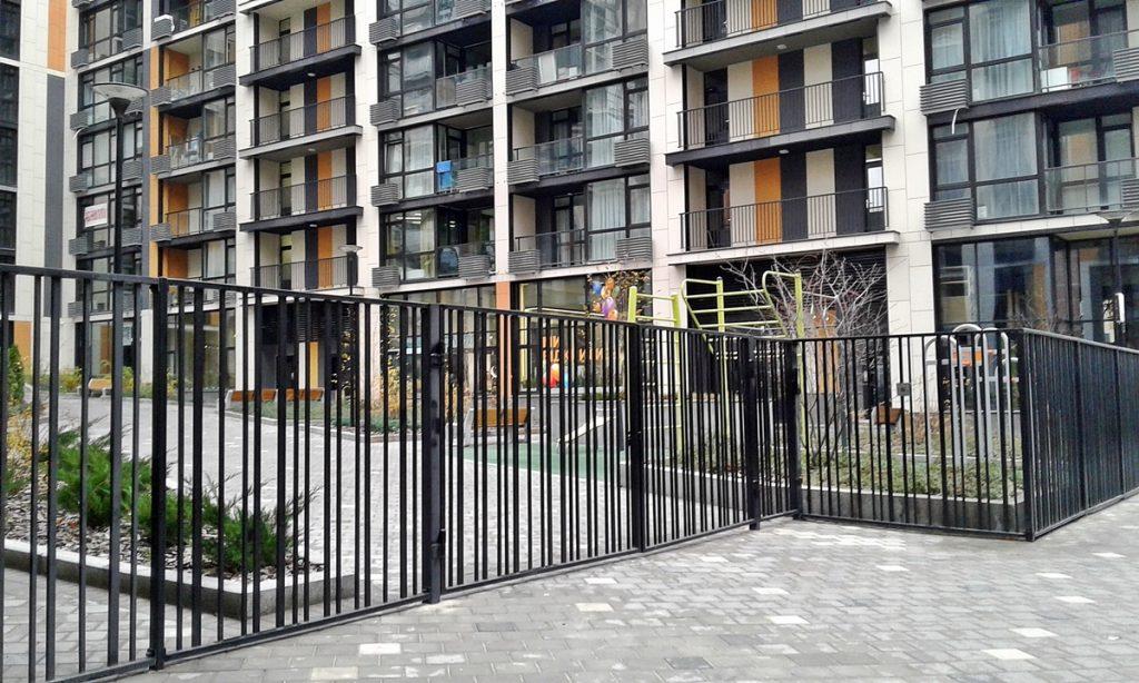 ЖК Французский квартал 2 от bUd development закрытый двор домов