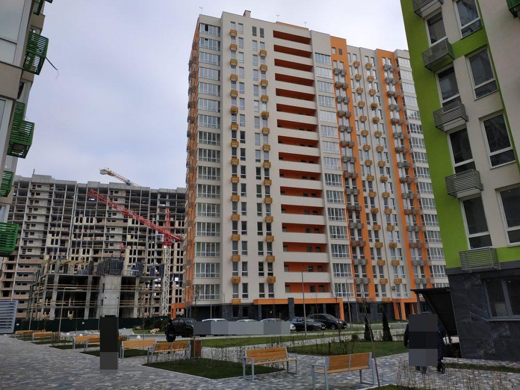 ЖК Нивки Парк от Интергал Буд строящиеся и сданные дома