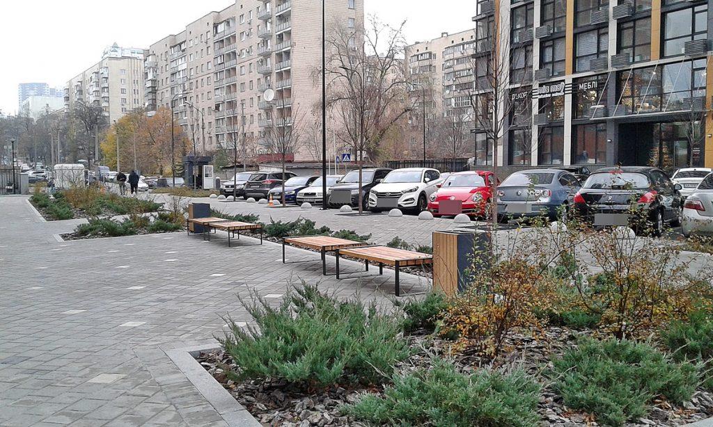 ЖК Французский квартал 2 от bUd development стоянка парковка