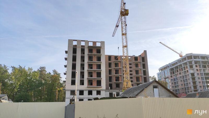 ЖК Арт Резиденс в Ирпене фото стройки