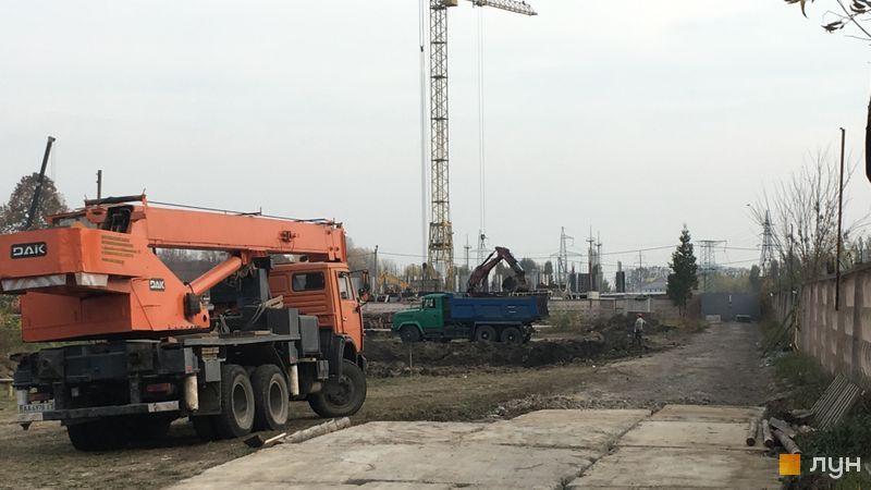 ЖК Чабани 2 в Чабанах стройплощадка