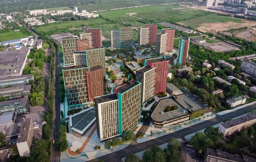 ЖК Диброва парк от ИБ Альянс в ТОП 10 жилых комплексов Киева по версии читателей блога новостроек