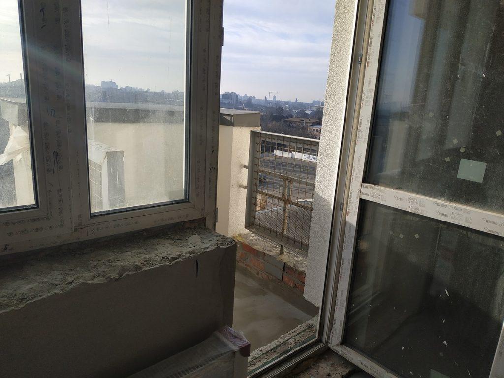 ЖК Берестейский балконы