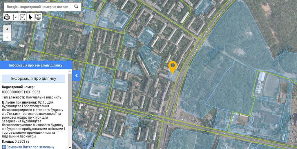 ЖК Уно Сити Хаус Гранд Парк на Дорогожичах данные о земельном участке в кадастре
