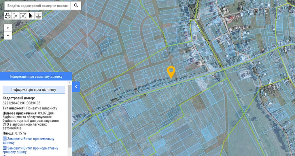 ЖК Смарт Формат в Погребах данные кадастровой карты