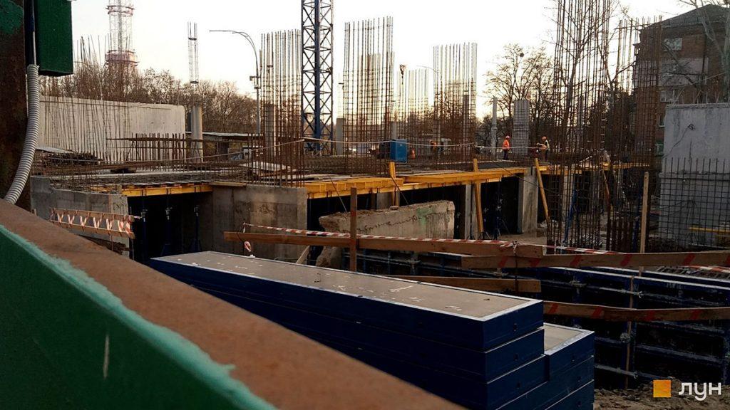 ЖК Уно Сити Хаус Гранд Парк на Дорогожичах ход строительства