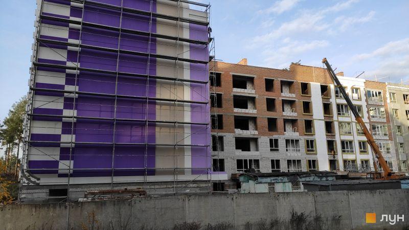 ЖК Рококо Виол в Ирпене стройплощадка