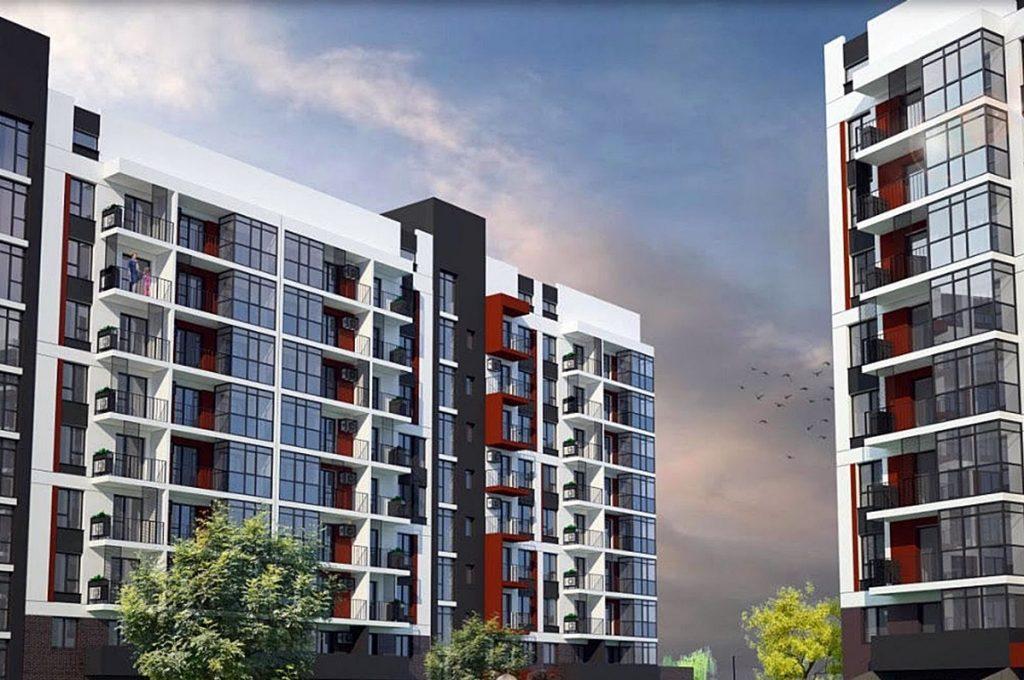 Новые проекты новостроек Бучи 2020 Аврора холл 2 визуализация