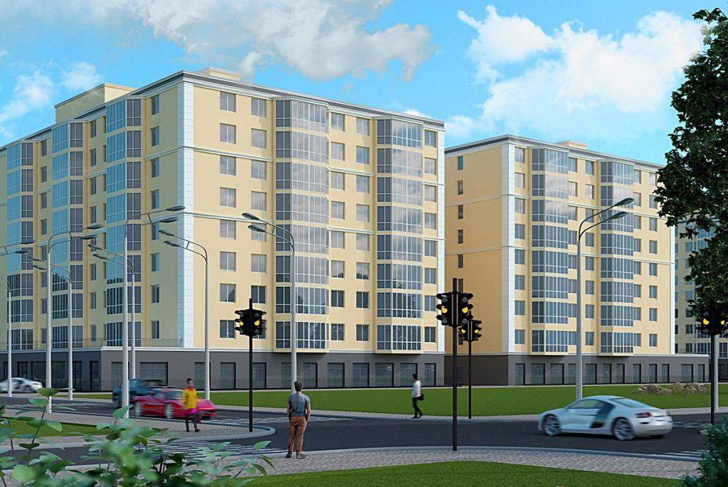 Новые проекты новостроек Бучи 2020 Буча Сити визуализация
