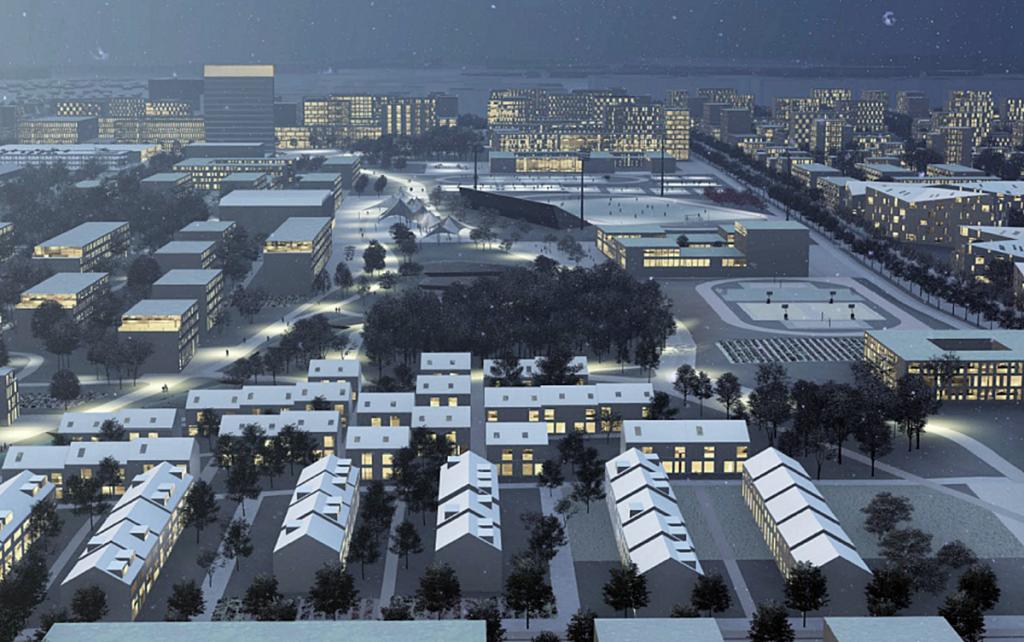 Новые проекты новостроек пригорода 2020 ЖК Вільне визуализация