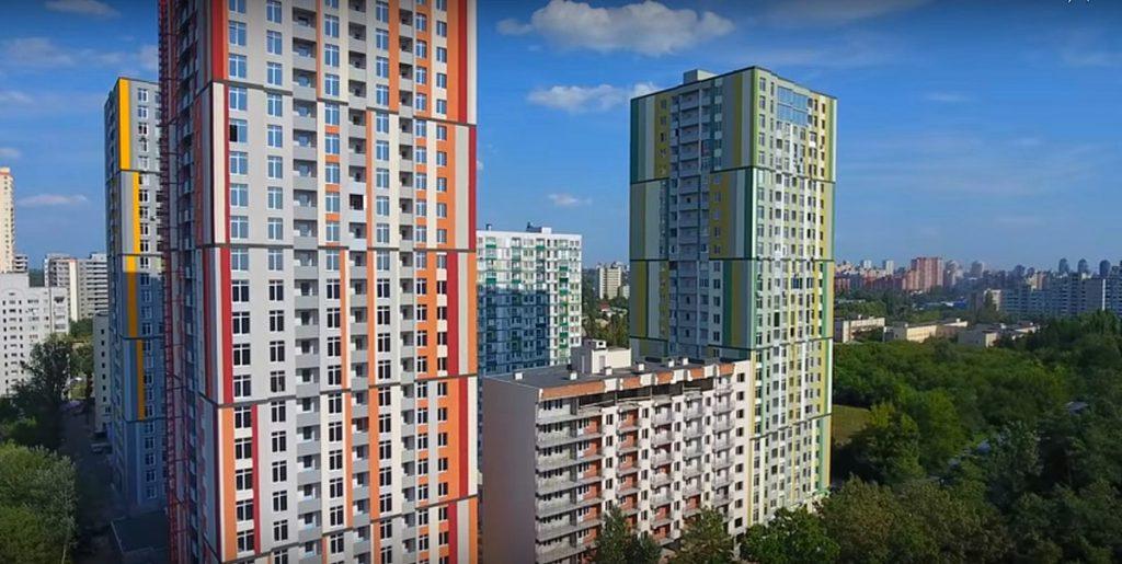 ЖК Грюнвальд возле новых станций метро красной ветки нового Генплана Киева