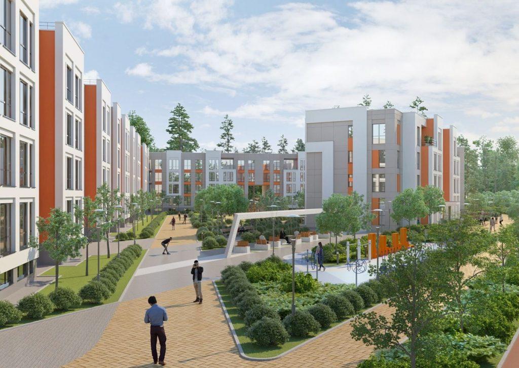 Новые проекты новостроек Киевской области 2020 Найкращий квартал 2 визуализация