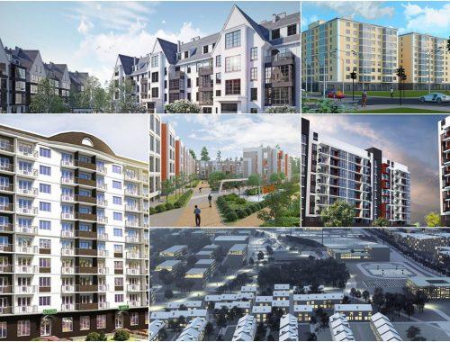 Новые проекты новостроек Киевской области 2020