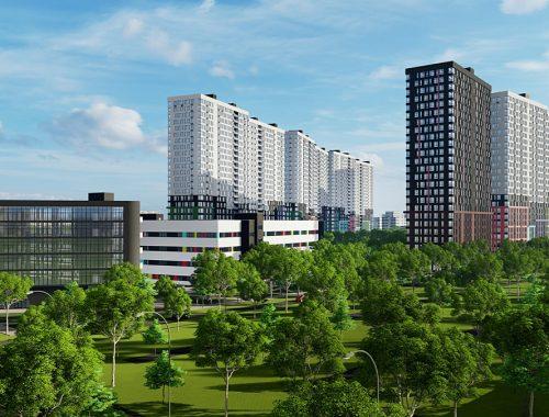 ЖК Стар Сити визуализация