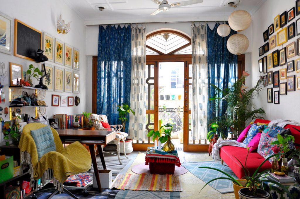 Дизайн квартиры с стиле максимализм