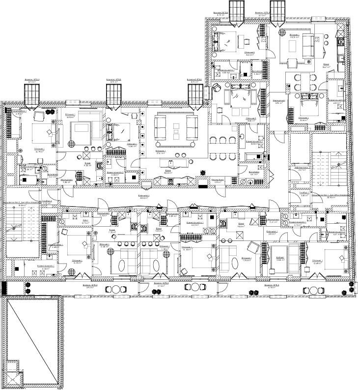 ЖК Сага Сити Спейс на Подоле план этажа