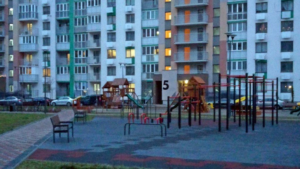 ЖК Місто Квітів. Парковий квартал внутренняя территория