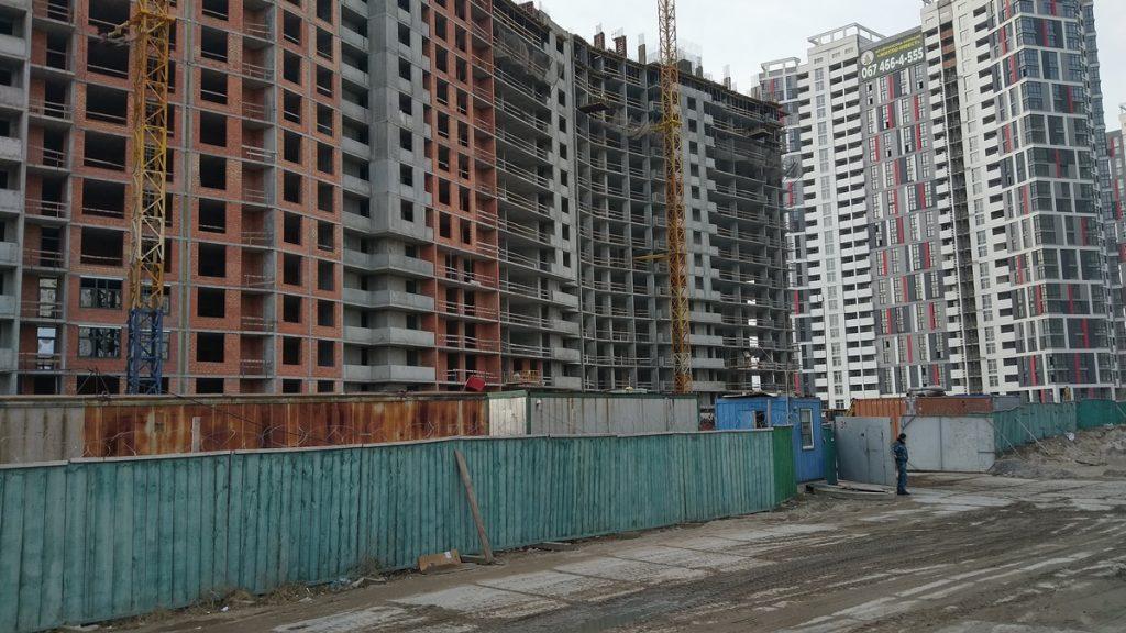 ЖК Русановская Гавань ход строительства