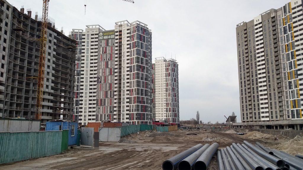 ЖК Русановская гавань территория и окружение