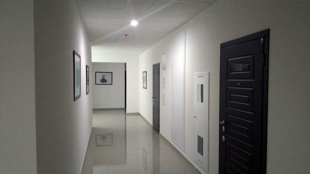 ЖК Тридцать восьмая жемчужина общий коридор
