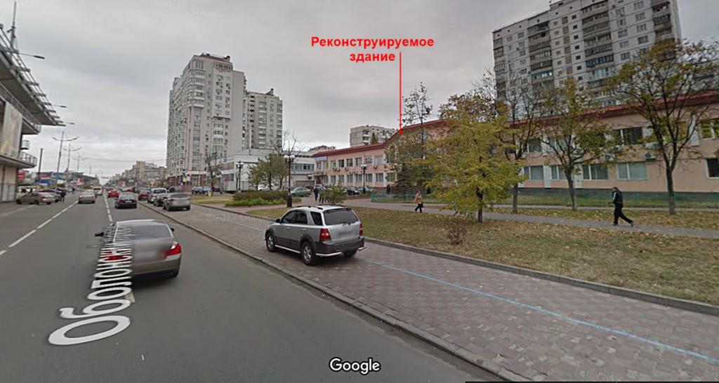 Реконструкция объекта по Оболонскому проспекту, 18