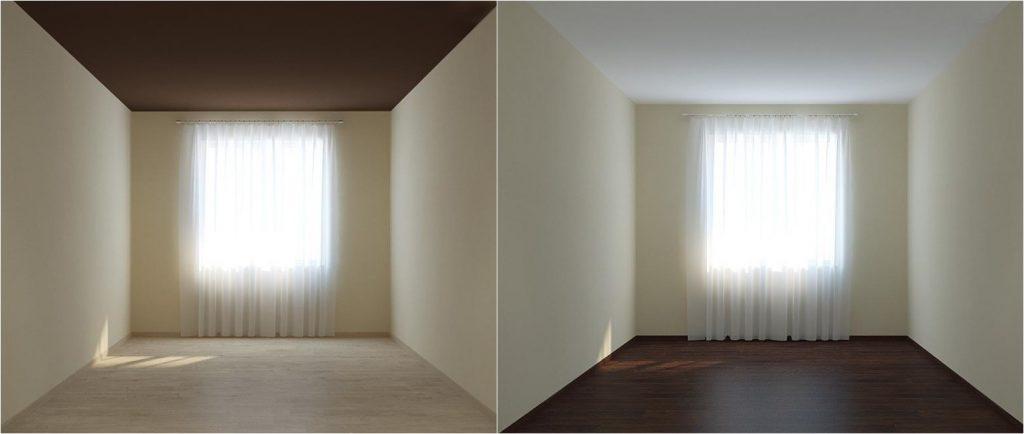 Визуальное расширение пространства