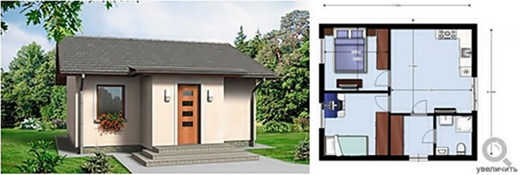КГ Вышеградский квартал визуализация и планировка