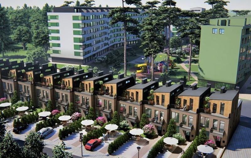 Таунхаусы Park Town визуализация