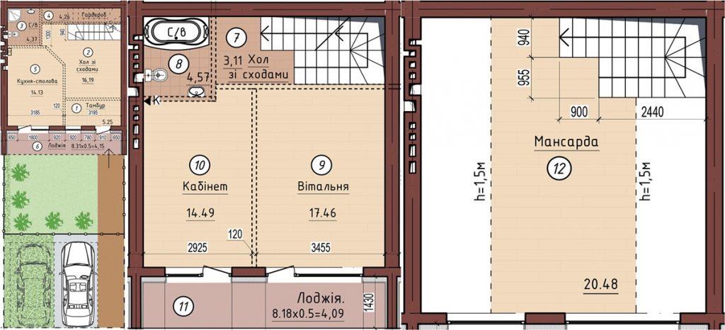 КГ Петровский квартал пример планировки