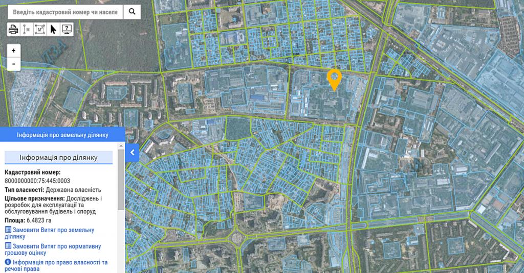 ЖК 4U данные кадастра