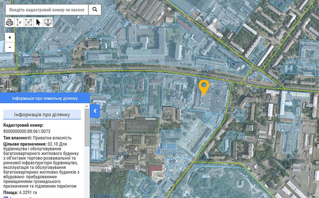 ЖК Creator City данные кадастра