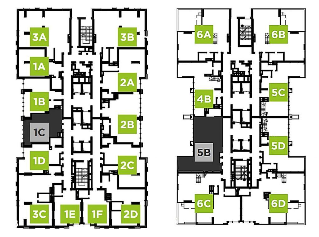 ЖК Creator City план этажа