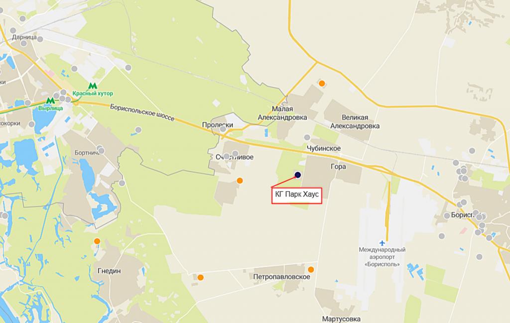 КГ Парк Хаус на карте