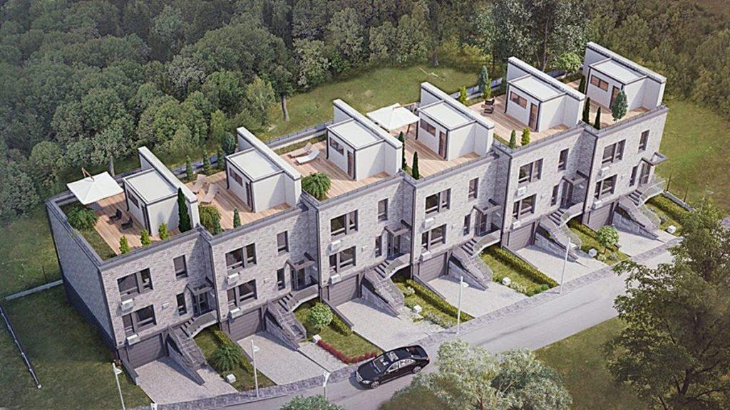 Таунхаус «SovSky House» визуализация