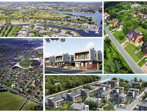 Самые красивые коттеджные городки Левобережья