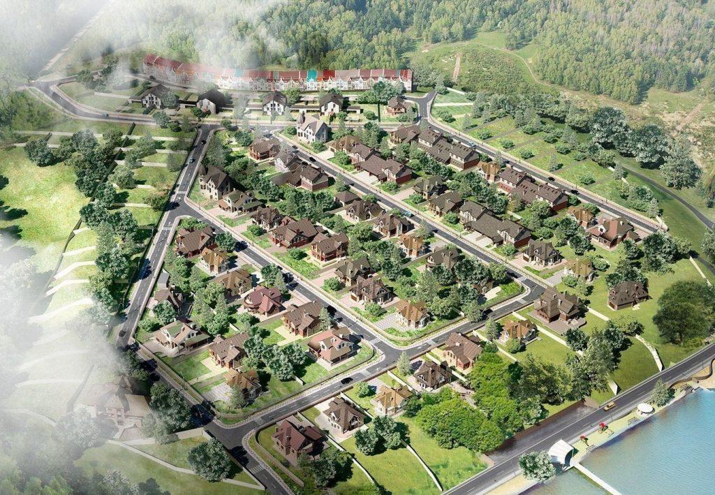 Формат «коттеджный городок»