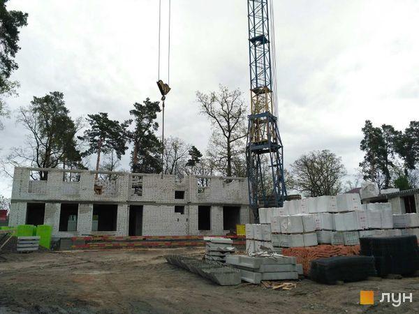 ЖК Новые метры Центр в Ирпене ход строительства