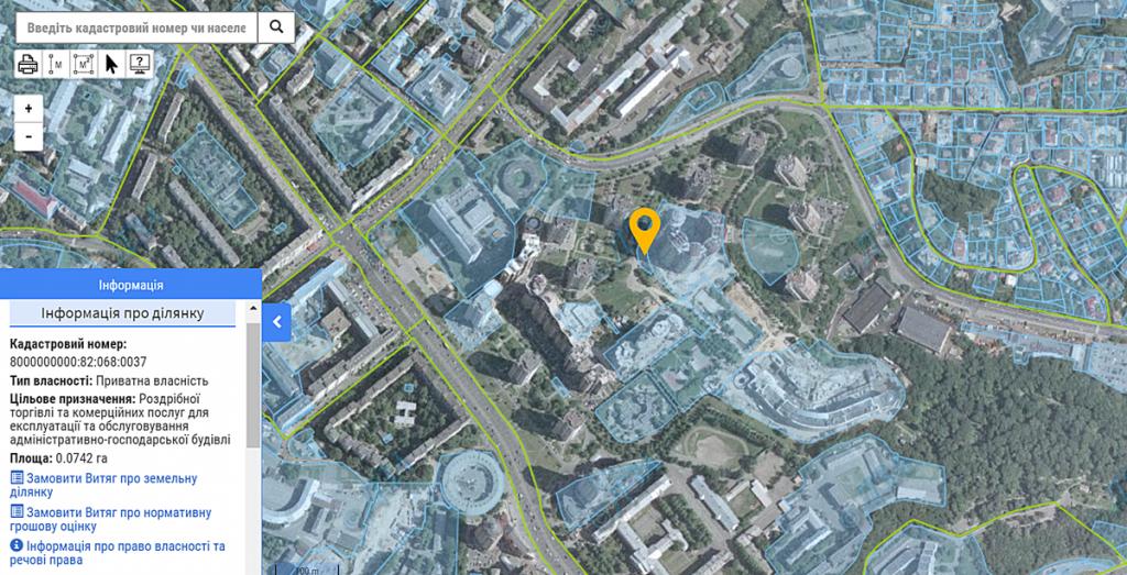 Данные кадастра по ул. Старонаводницкая, 2-20