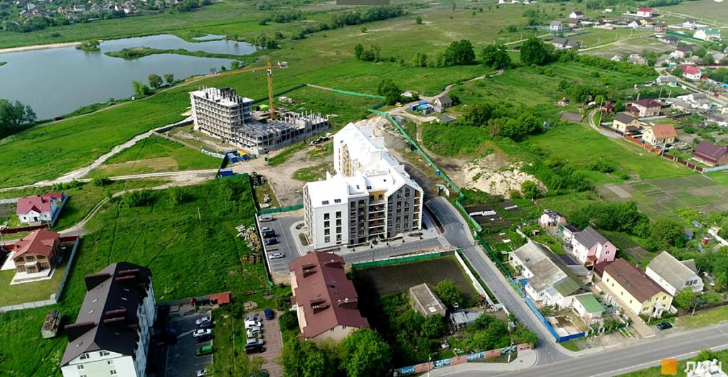 ЖК Гостомель Резиденс аэрооблет комплекса