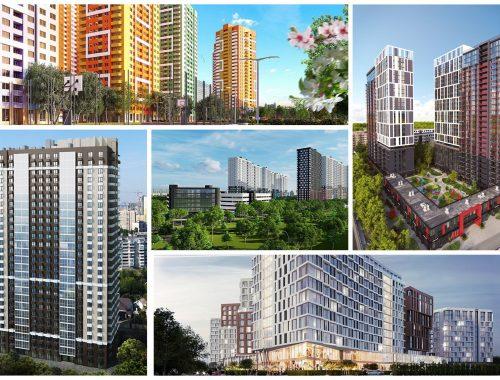 На минималках: 5 ЖК с ценой строящихся квартир до 700 тыс. грн